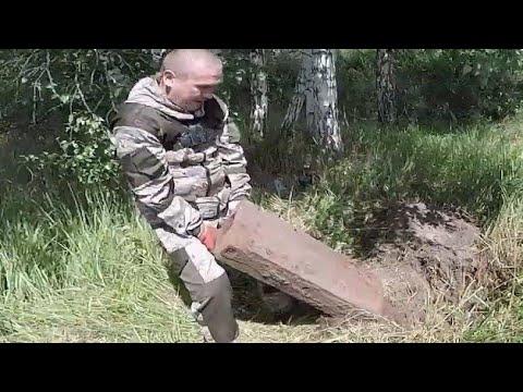 Наследство от СССР! НАШЛИ брошенные запчасти от техники на металлоискатель.