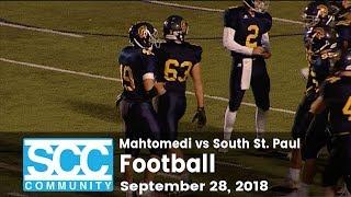 Football - Mahtomedi vs South St. Paul - 9/28/18