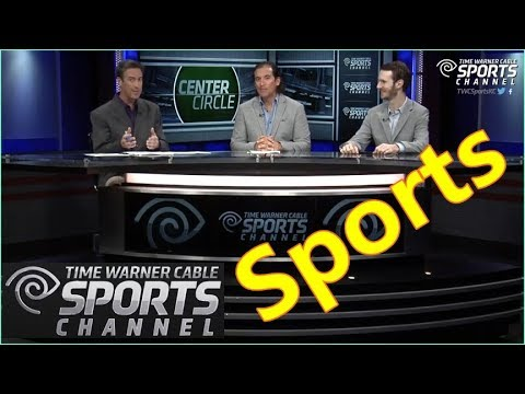 Broadcast Sports news show studio set design with Lumos 500gt, 300gt LED tv lighting