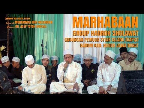 Cover image Download Lagu Merdunya Marhabaan Dalam Pengajian Kh. Asep Totoh Godzali, Group Hadroh Sholawat Gapsi Bogor