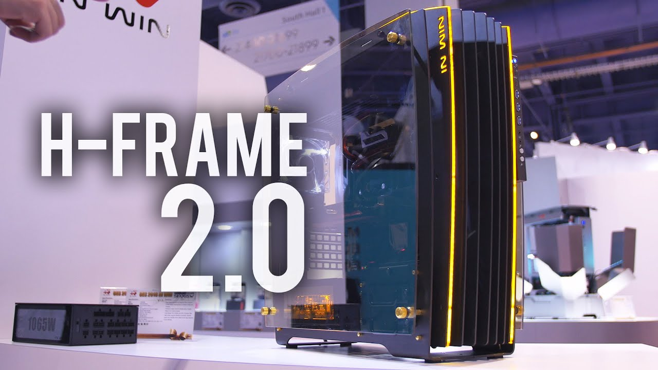 Superb Crazy Glass And Aluminum Case   InWin H Frame 2.0 Signature Edition    YouTube