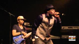 Shabba Ranks live at Reggae Geel 2012 - Belgium (August 3, 2012)