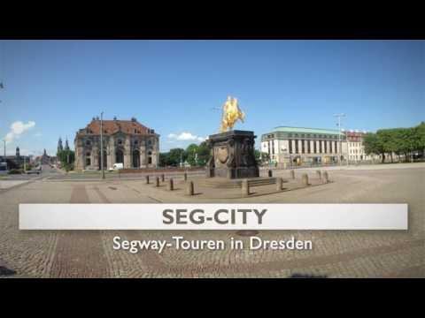 Segway Dresden Sightseeing Stadtrundfahrt Dresden Stadtführung Segway SEG City Dresden