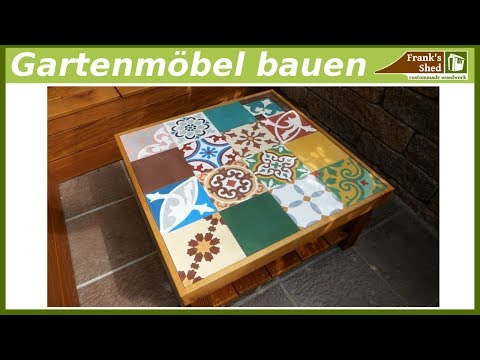 Tisch Fur Terrasse Selber Bauen Diy Mit Franks Shed Easy Diy