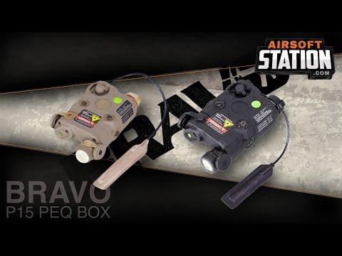 BRAVO P15 PEQ Airsoft Flashlight/Laser Module Overview