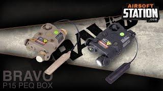 BRAVO P15 PEQ Airsoft Flashlight/Laser Module Overview screenshot 5