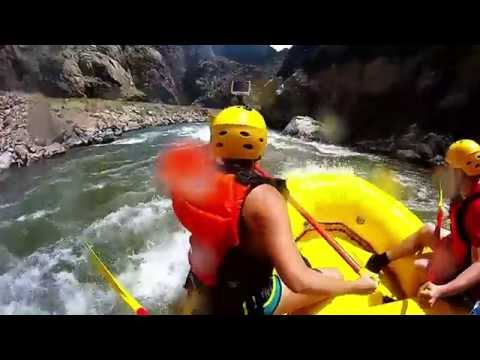 White Water Rafting the Royal Gorge, Arkansas River, Colorado: GoPro Hero+ Black Edition
