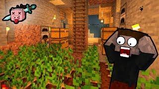 BUDUJEMY FARMĘ - Minecraft Kwadratowa Masakra LIVE