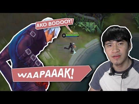 KOF Skin na Gusion, Pinagsisipa mga Kalaban!