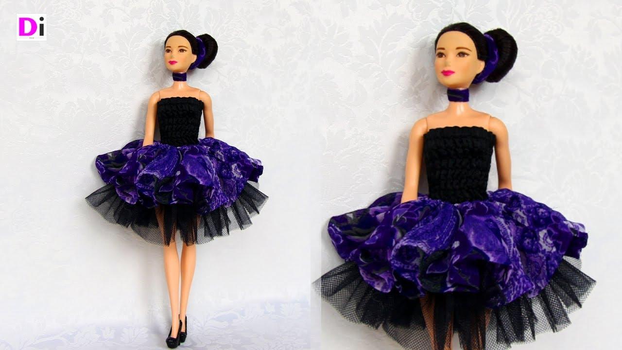 Как сделать красивое платье для куклы барби фото 78