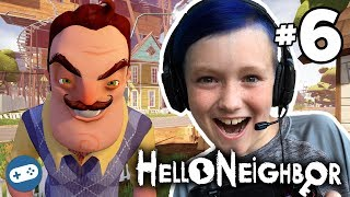 Hello Neighbor Ps4 Gameplay With Liam Part 6 Magnet Gun!