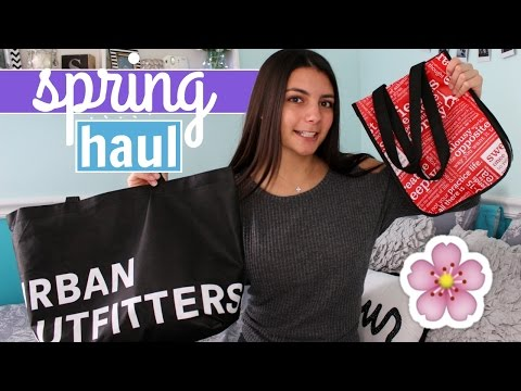 HUGE Try On Spring Clothing Haul 2017