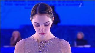 Показательное выступление Евгении Медведевой на Кубке Первого канала по фигурному катанию