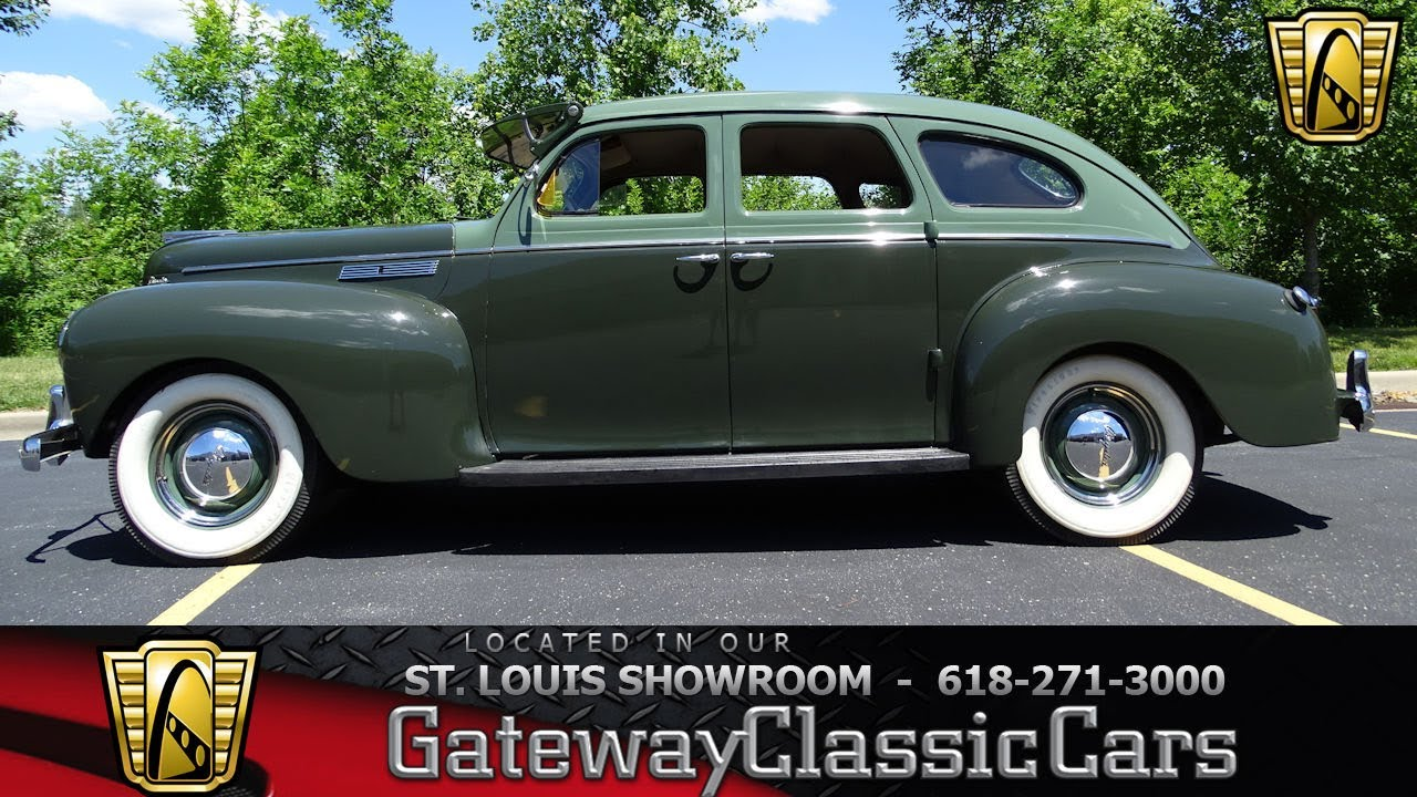1940 Chrysler Royal Stock #7319 - YouTube