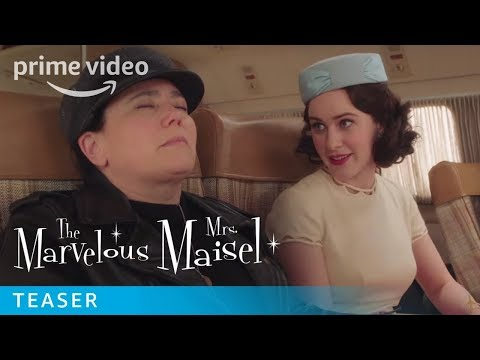 'The Marvelous Mrs Maisel' Teaser Goes on Tour With Shy Baldwin and 'It's a Huge Thing' (Video)