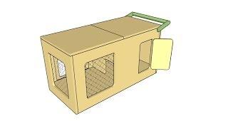 Indoor Rabbit Hutch Plans