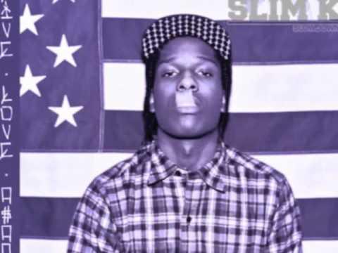 ASAP Rocky Feat. ASAP Ferg - Kissin Pink (Chopped & Screwed by Slim K) (DL INSIDE)