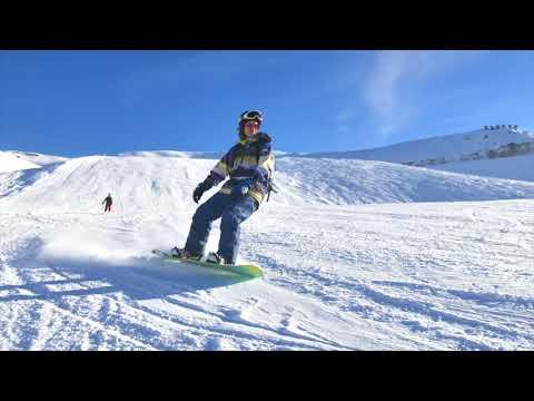Snowboarding La Plagne - Jan 2018