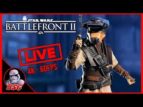 Killsteak Thursday #1 🙂 Star Wars Battlefront 2 Gameplay | 4K Live Stream (4K 60FPS) thumbnail