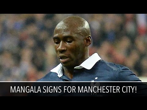Eliaquim Mangala Signs for Manchester City!