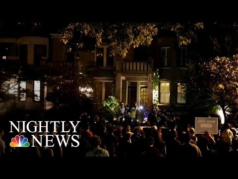 Police Officers Injured, Protesters Arrested In St. Louis Protests   NBC Nightly News