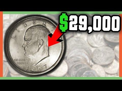 $29,000 RARE EISENHOWER DOLLAR COINS WORTH MONEY - IKE DOLLAR VALUE!!