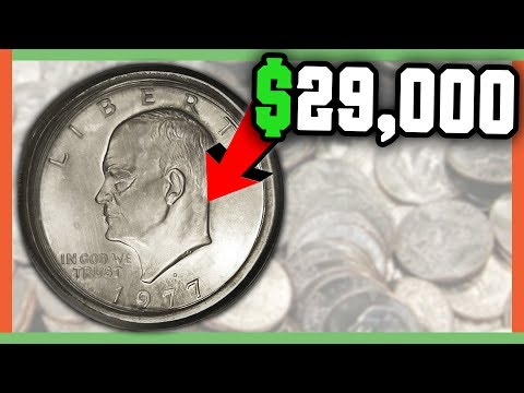 $29,000 RARE EISENHOWER DOLLAR COINS WORTH MONEY - IKE DOLLAR VALUE!!