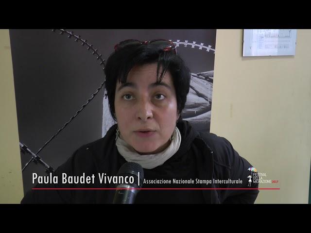 Festival della Migrazione 2017_Intervista a Paula Baudet Vivanco