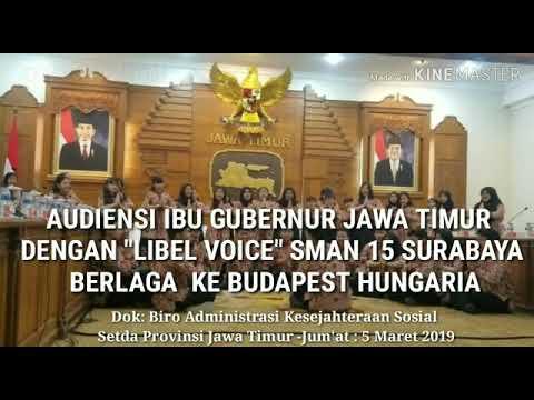 """ibu-khofifah-gubernur-jatim-menerima-""""libel-voice""""sman-15-surabaya-yang-akan-ke-budapest-hungaria"""