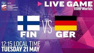 Finland vs. Germany | Full Game | 2019 IIHF Ice Hockey World Championship