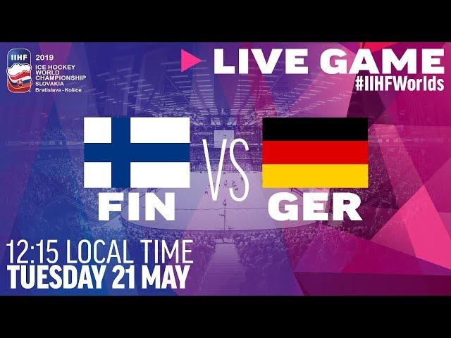 Finland vs. Germany   Full Game   2019 IIHF Ice Hockey World Championship