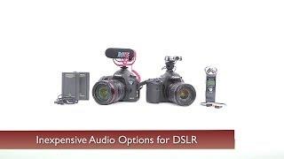Entry-Level Audio Options for DSLR