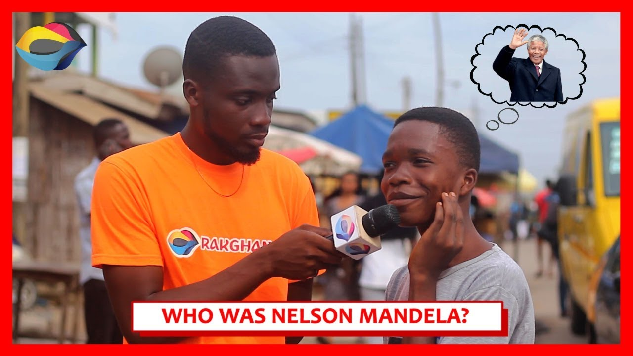 Who was NELSON MANDELA?   Street Quiz   Funny African Videos   Funny Videos   African Comedy