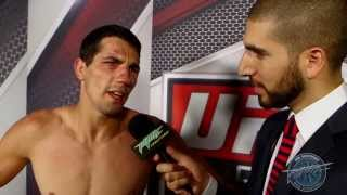 UFC 161: Roland Delorme's Dream Came True by Winning in Winnipeg