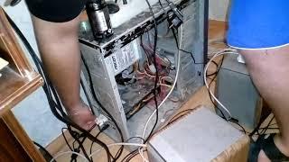 Ремонт компьютера от пыли