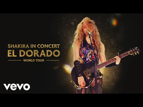 Shakira - Nada (Audio - El Dorado World Tour Live)