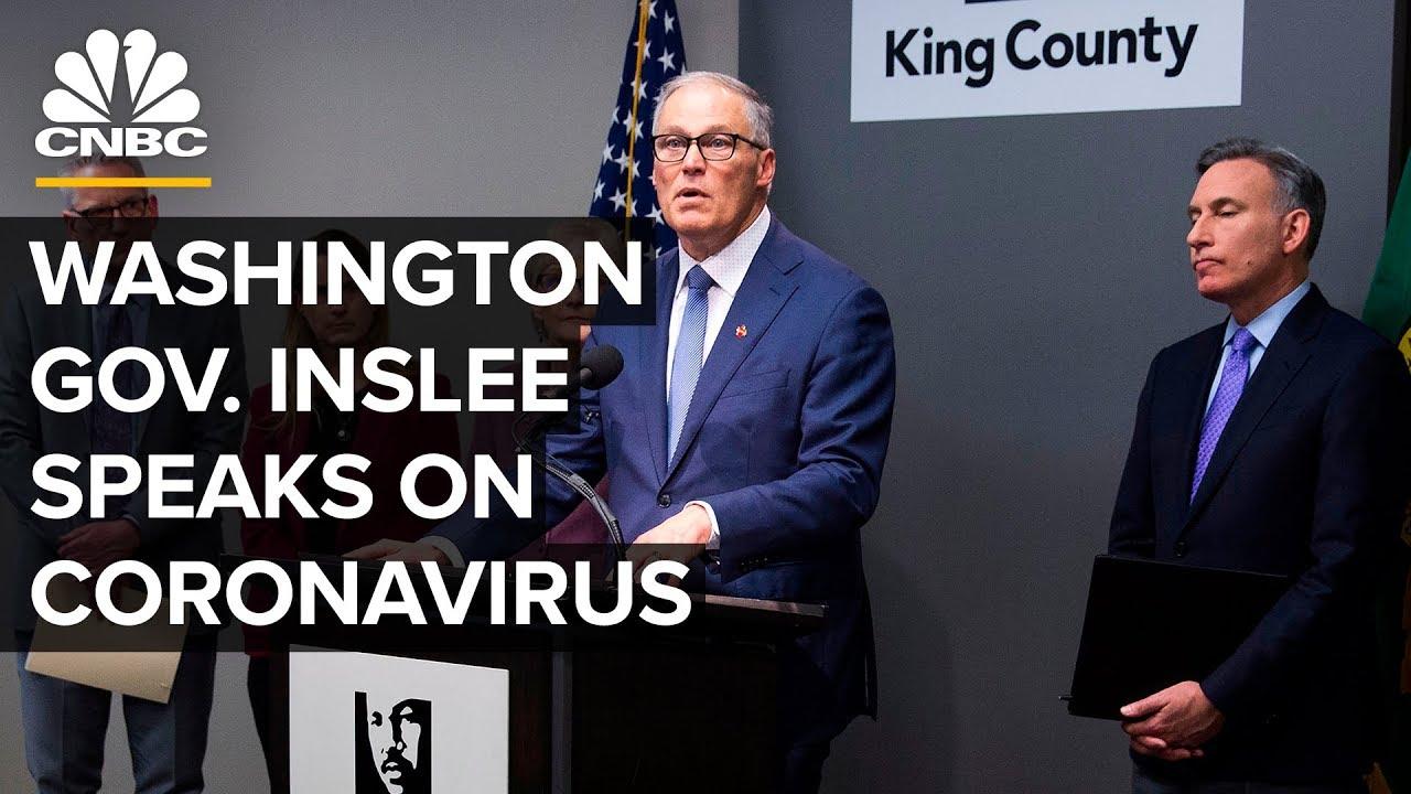 Washington Gov. Jay Inslee to give televised statewide speech tonight