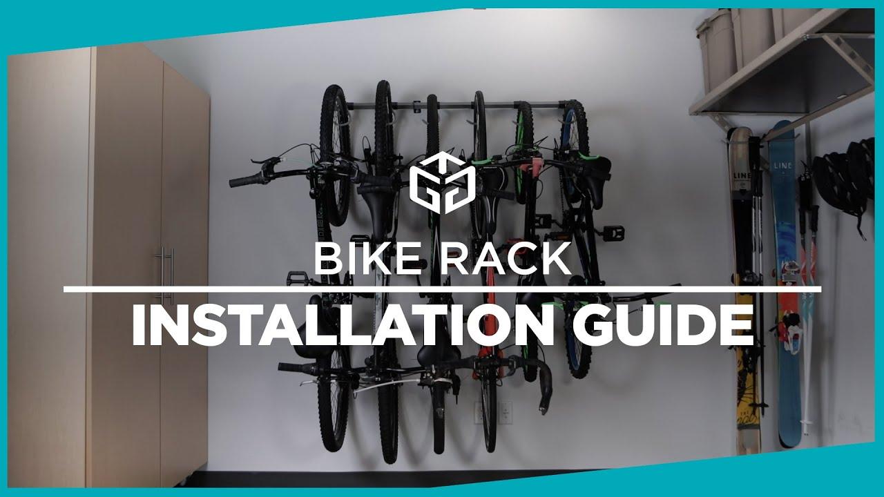 bike rack installation