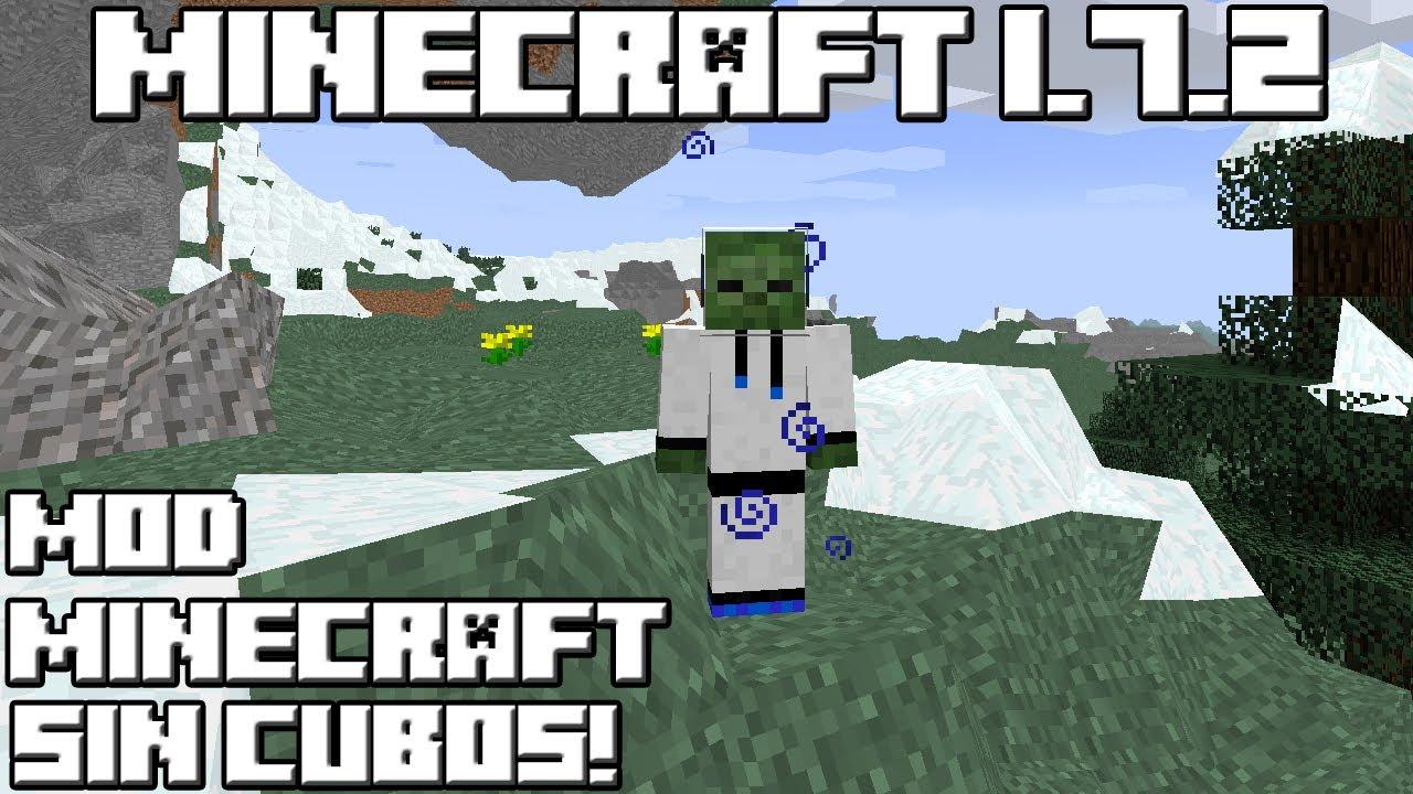 Minecraft 1 7 2 mod minecraft sin cubos youtube - Decoraciones para minecraft sin mods ...