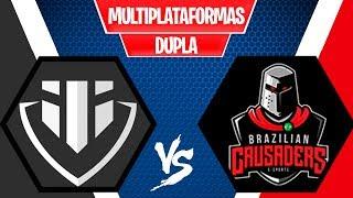 Baixar BRAZILIAN CRUSADERS vs INSANE ATTACK - TORNEIO FORTNITE MULTIPLATAFORMA - OITAVAS DE FINAL