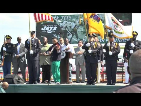 Todd Bowles Waterfront Sports Complex Dedication Ceremony