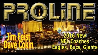2016 New NFL Coaches (Dolphins, Bucs, Giants, Eagles) w/ Jim Feist + Dave Cokin