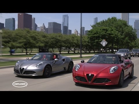 Alfa Romeo 4C vs. Alfa Romeo 4C with the Track Package