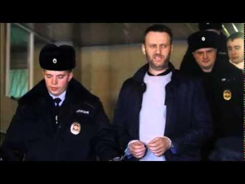 Putin critic Alexei Navalny given 15-day jail sentence