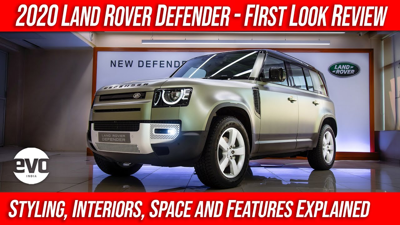 Land Rover Defender 2020 : Styling, Space, Interiors, Features Explained | First Look | evo India