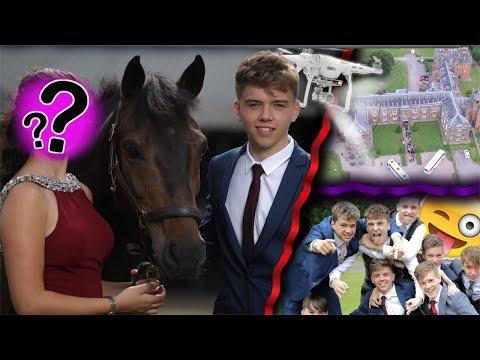 PROM VLOG 2017 | My Senior Year UK Prom...