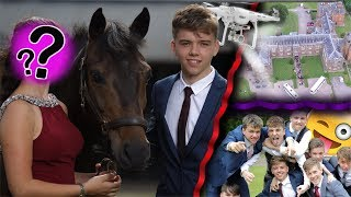 PROM VLOG 2017 | My Senior Year UK Prom Vlog with Horses and Drones | Simply Luke
