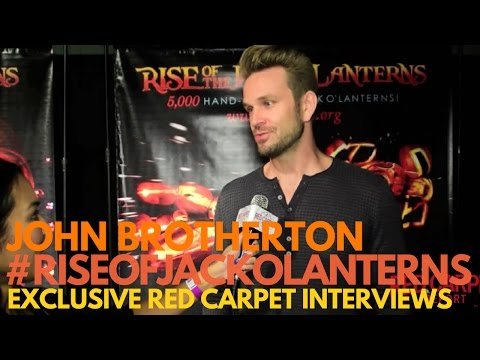 John Brotherton ed at the Rise of the Jack O' Lanterns VIP Event in DTLA Halloween