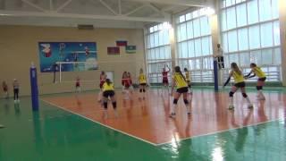Волейбол девушек 2003-2004 г.г.р Краснодар-Анапа( 0:3)  27.10.2016