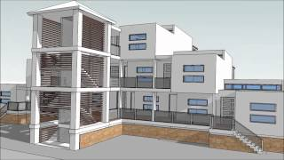 Design An Apartment Building With Sketchup. Part 2 Animations